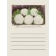 Garden Notes Cauliflower Journal Card 3x4