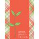 Garden Notes Grow Journal Card 3x4