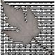 Classy Gray Leaf