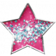 Sparkle & Shine Pink Star Brad