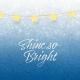 Sparkle And Shine Journal Card Shine 4x4