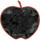 Backpack And Pencils Apple Photo Frame With Mask