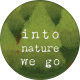 Camp Out Woods Round Sticker Nature