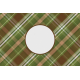 Camp Out Woods Plaid Journal Card 4x6