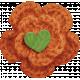 Sweet Autumn Mini Element Orange Flower