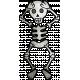 Halloween Paper Cuttings Dancing Skeleton