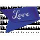 Kitty Love Element- Ribbon Flag
