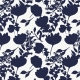 My Life Palette- White/Navy Floral Silhouette Paper