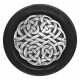 My Life Palette - Button (Silver Knotwork & Black)