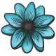 My Life Palette - Flower Doodle (Turquoise Anemone)
