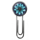 My Life Palette- Deco Paper Clip (Turquoise Flower)