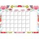 The Good Life: September- Calendar 1 A4 Blank