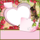 """Easter-Quick page """"Heart-Bunny"""""""