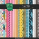 Xanthe Patterned Paper Kit