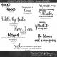 Scripture Word Art (Volume 03)