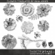 Fabric Flower Template Kit