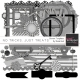 No Tricks, Just Treats Element Templates Kit