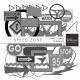 Speed Zone Element Templates Kit