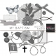 My Baptism Element Templates Kit