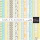 Simple Pleasures Papers Kit