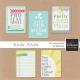 Rain, Rain Journal Cards Kit