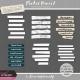 Pocket Basics 2 Journal Strip Templates