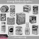 Vintage Kitchen Graphics Vol. 1 - Vintage Food Packaging