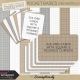 Pocket Basics Grid Neutrals Papers & Journal Cards
