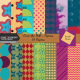 Over the Hill: 40 and 50 - Patterned Papers