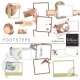 Footsteps Clusters Kit