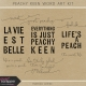 Peachy Keen Word Art Kit
