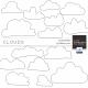 Cloud Brushes Kit