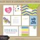 Blue Skies & Lemonade Pocket Cards Kit
