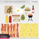 Food Day Illustrations Kit