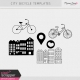 City Bicycle Templates Kit