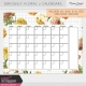 Seriously Floral #2 Calendars Kit