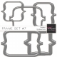 Frame Templates Kit #7- Plastic Brackets