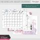 The Good Life: August Calendars Kit
