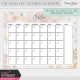 The Good Life: October Calendars Kit