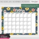 The Good Life: November Calendars Kit