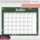 The Good Life: December Calendars Kit