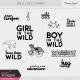 Wild Child Stamps Kit