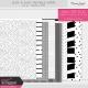 Black & White Printable Papers Kit #2 - Stripes & Dots