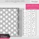 Black & White Printable Papers Kit #3