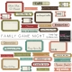 Family Game Night Family Tags Kit