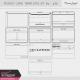 Pocket Card Templates Kit #4- 4x6