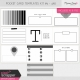 Pocket Card Templates Kit #5- 4x6