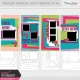 Travelers Notebook Layout Templates Kit #3
