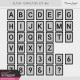 Alpha Template Kit #61