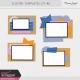 Pocket Cluster Templates Kit #6